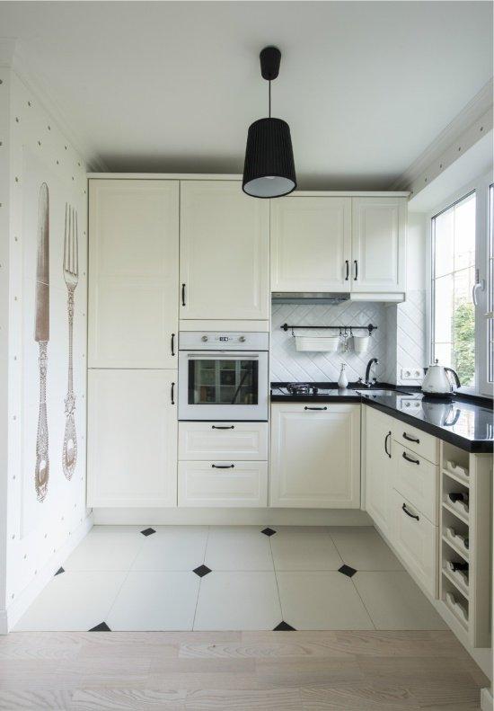 Декорация кухонного пола
