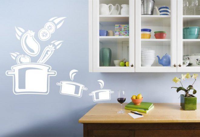 Декорирование кухонных стен
