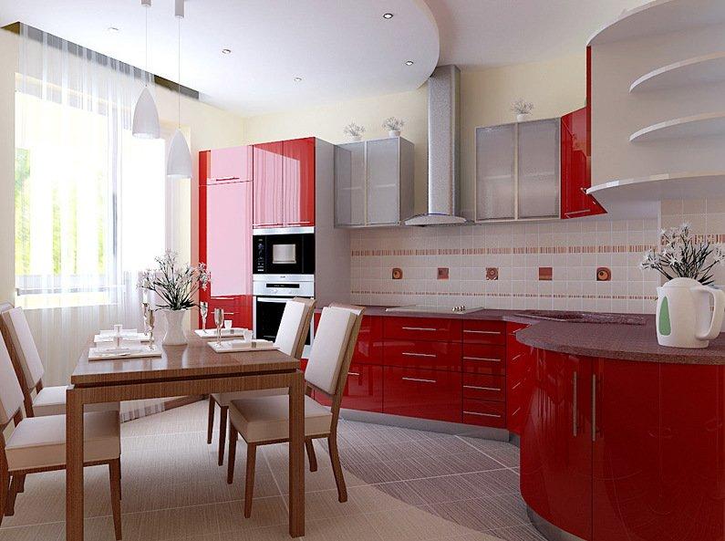 Косметический ремонт в кухни