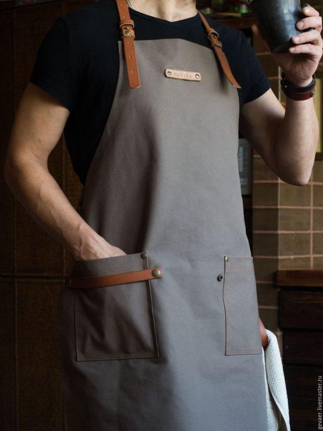 Фартук для домашней кухни