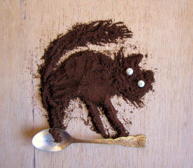 Картины из молотого кофе