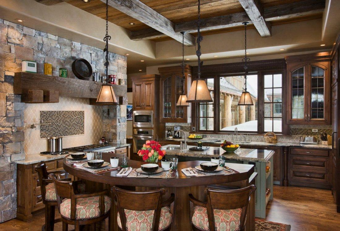 дома дизайн кухни в стиле шале фото упирается обучение детей