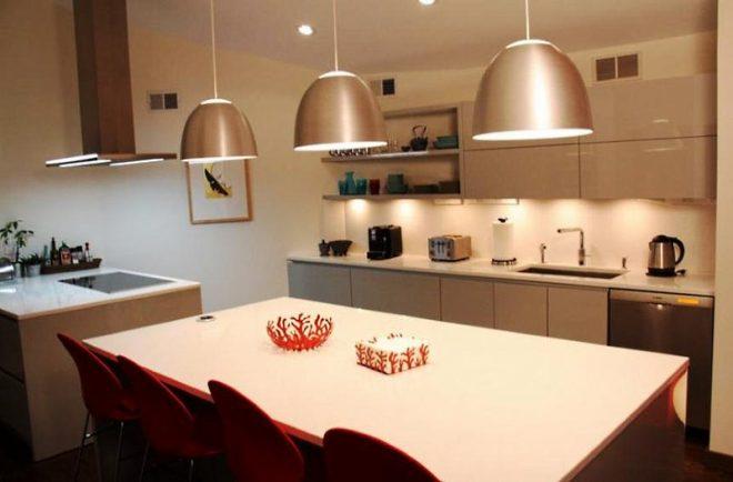 Кухонное освещение