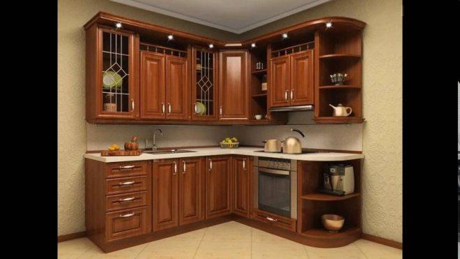 Мебель маленькой кухни