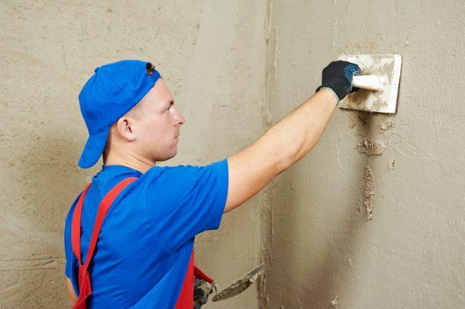 Подготовка стены для плитки