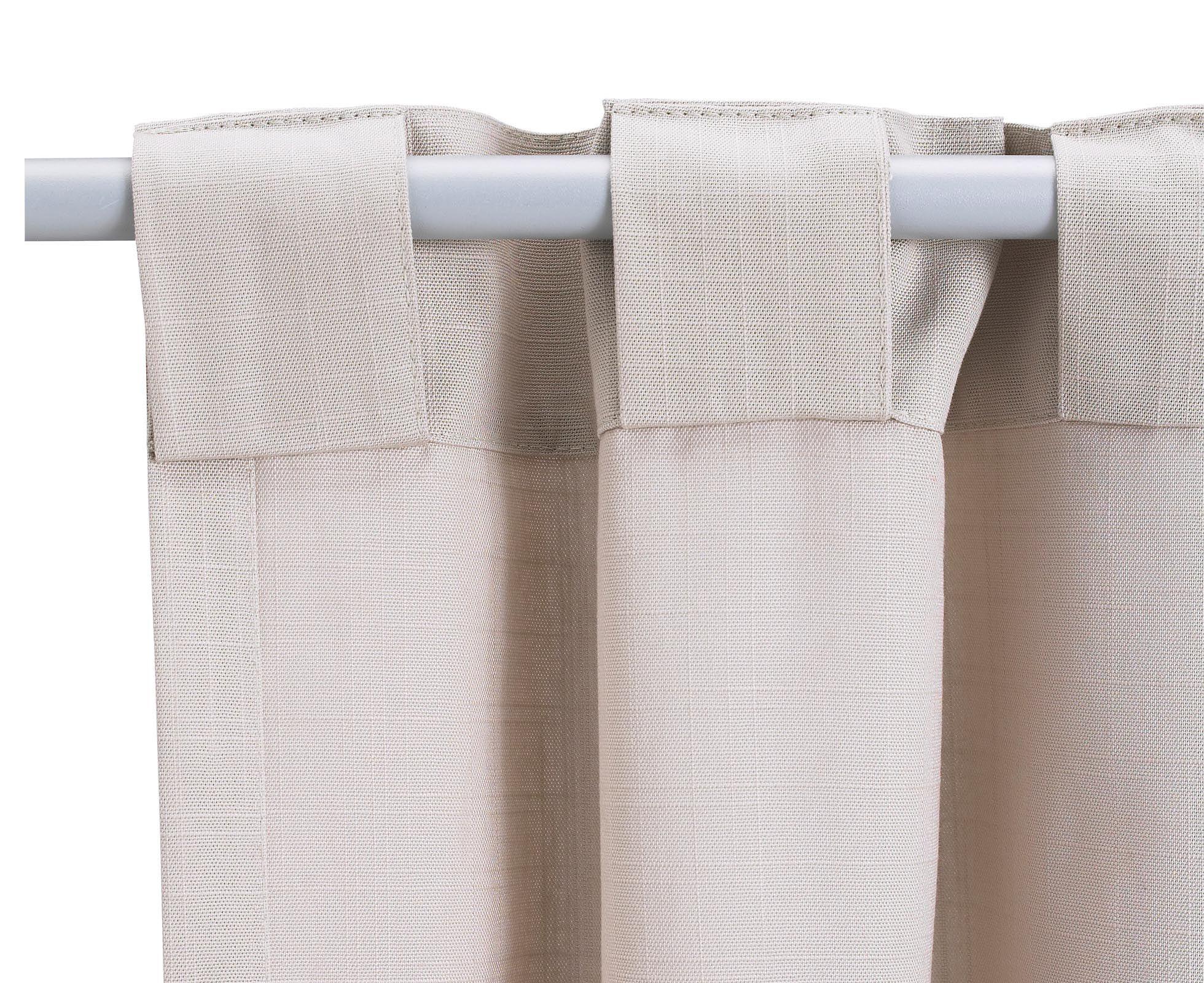Как сделать шторы на петлях с липучками