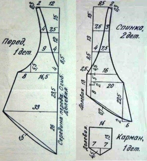 Вязание изделий тунисским вязанием 537