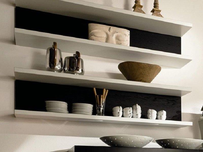 полки для кухни на стену фото