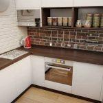 Планировка и дизайн маленькой кухни 6 кв. м: фото, особенности и нюансы