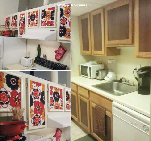 Реставрация кухни своими руками до и после
