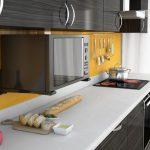 Полки, стеллажи и подставки для микроволновки на стену кухни: как сделать своими рукам