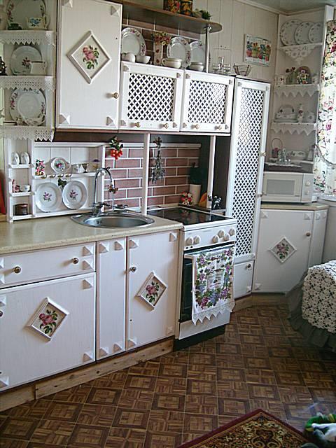Декоративные вставки на мебели