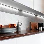 💡Светодиодная подсветка для кухни рабочей зоны: правила установки и подключения