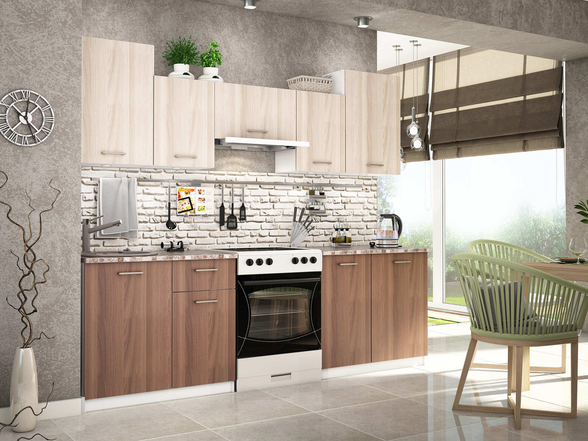 Кухни эконом-класса - особенности недорогой мебели рекомендации
