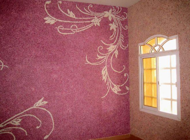 Орнамент на стенах