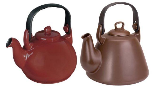 Керамические чайнички