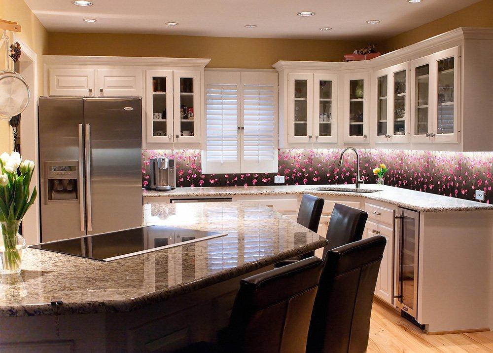 Декор панели для кухни фото