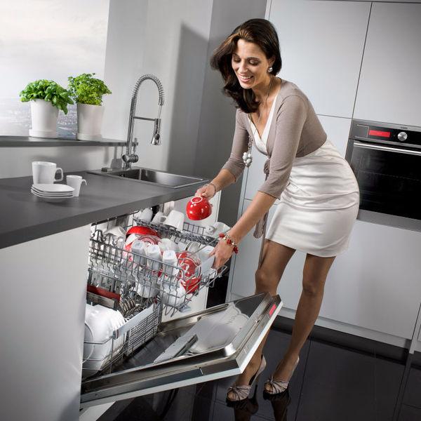 Посудомоечная машина встроенная в кухонный шкаф