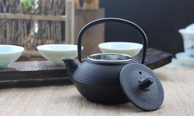 Чугунный чайничек