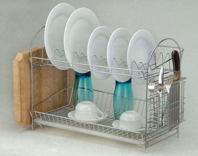 Металлическая посудосушилка