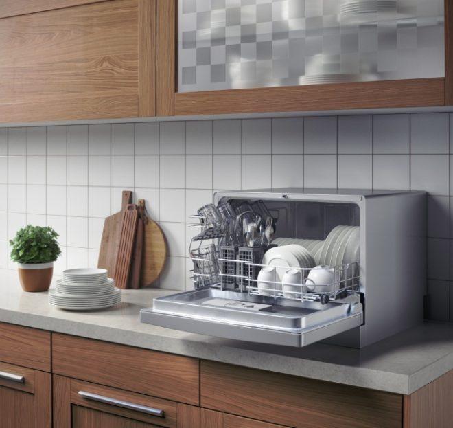 Посудомоечная машина на столешнице