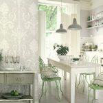 Какие обои выбрать для кухни: виды, правила сочетания разных цветов, фото