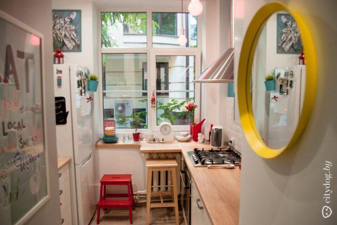 Дизайн кухни 5 кв. м без верхних шкафов