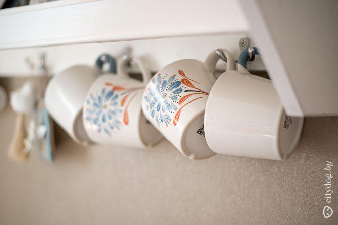 Дизайн современной белой кухни 8 кв.м