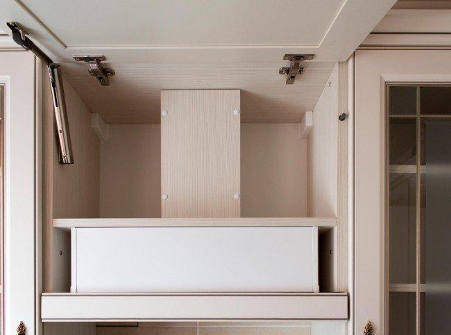 Шкаф с интегрированной вытяжкой