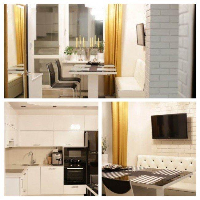 Кухня 13 квадратных метров 2