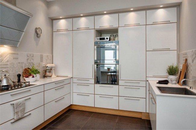 Шкафы на кухне 3