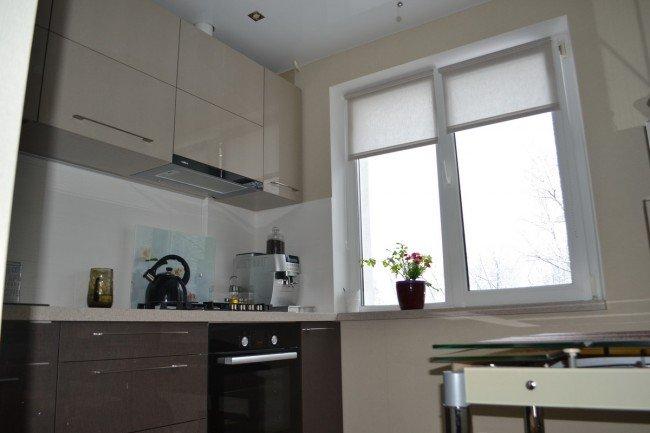 Окно в кухне