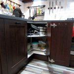Дизайн кухни 9 кв.м с фартуком из кирпича