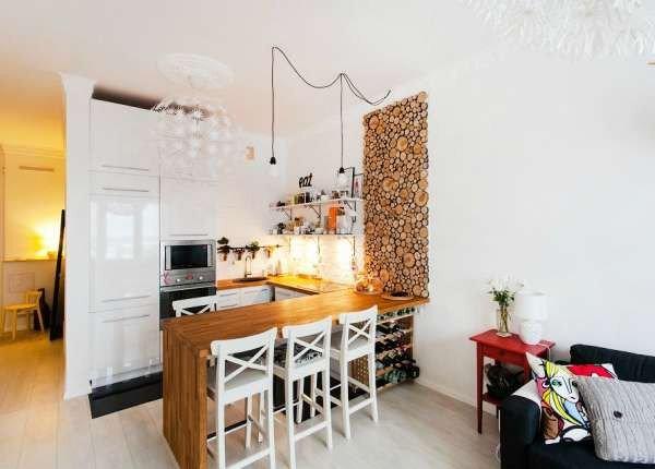 Гостиная с кухне 2