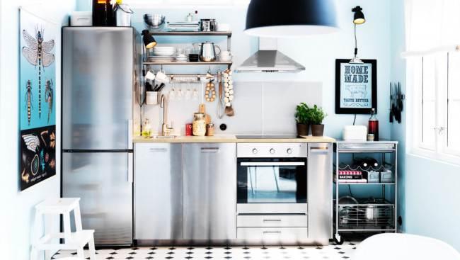 Кухни прямые