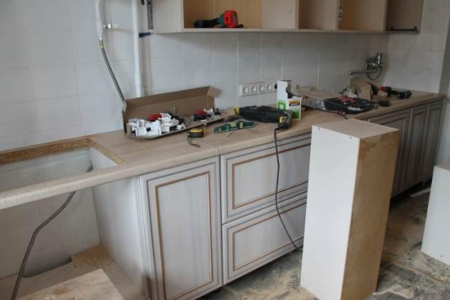 Сборка кухни 3