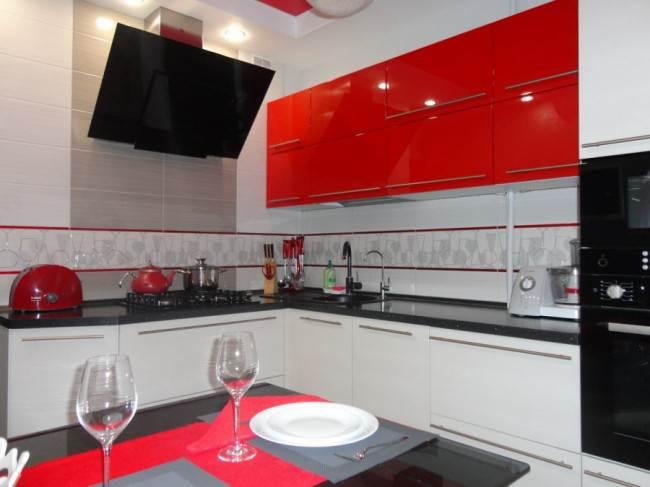 Кухня площадью 9 кв.м