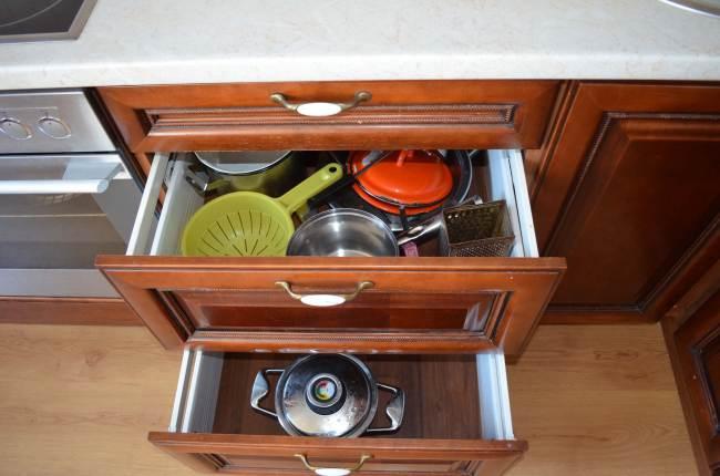 Ящики для посуды