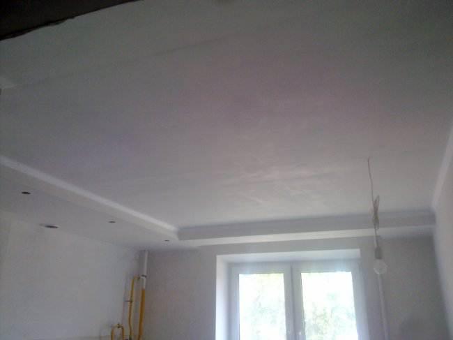 Покраска потолка 2