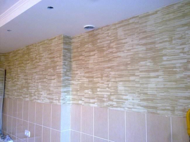 Стены на кухне 2