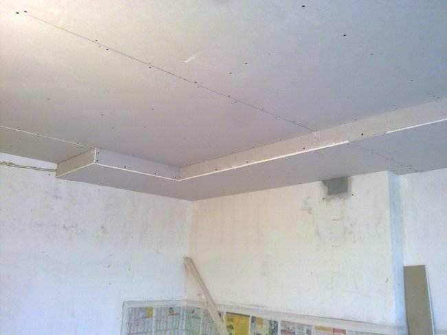 Ремонт потолка 3