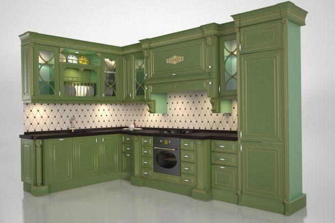Зеленая кухня 2