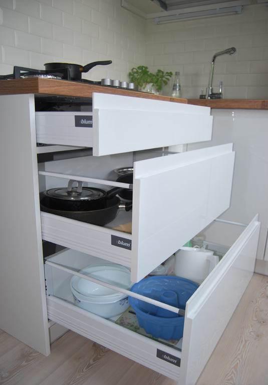 Ящики на кухне