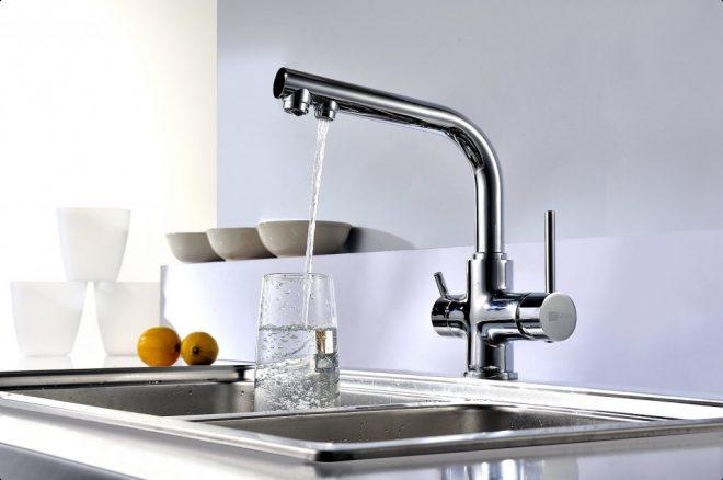 Кран для питьевой воды на кухню