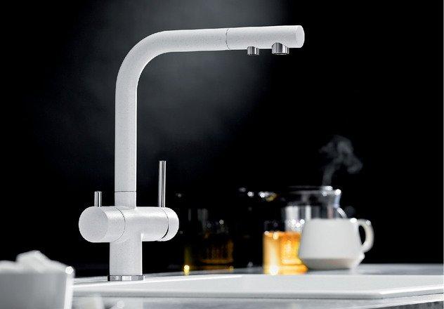 Совмещенный кран для питьевой воды