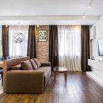 Дизайн кухни гостиной 20 кв м: фото с зонированием, выбор цвета