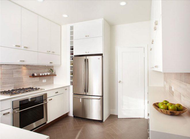 Размещение холодильника