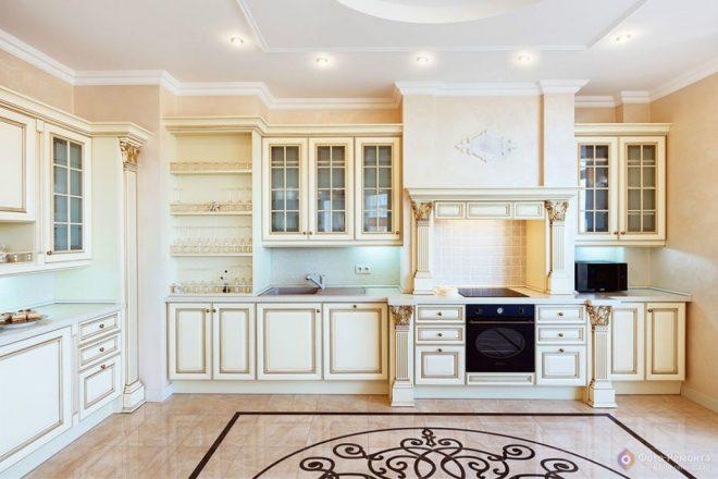 Кухня в стиле классики