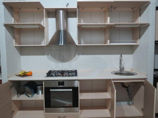 Кухня в открытом виде