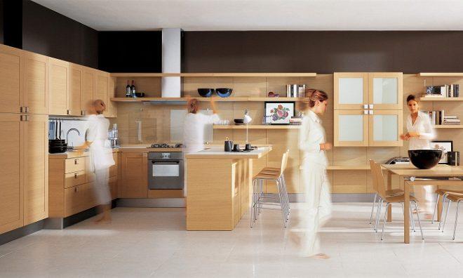 Активные зоны на кухне